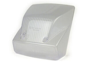 White Rear Brake Light Lens - Vespa PX 125 150 200 Disc Model - 1998 on