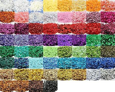 6mm/15g/1200pcs.   8mm/15g/800pcs. Sequins Cup 6mm  8mm - 60 colours