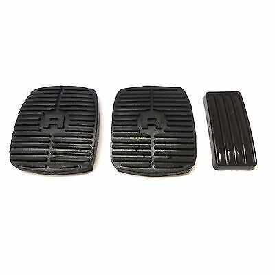 Land Rover Discovery 1 & 2 New Accelerator, Brake & Clutch Pedal Rubbers Set X3
