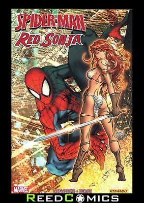 SPIDER-MAN RED SONJA GRAPHIC NOVEL Paperback Collects 5 Part Series + Team-Up 79