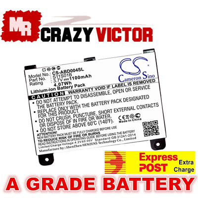S11S01A 170-1012-00 Battery for Amazon Kindle 2 D00511 D00701 & Kindle DX D00801