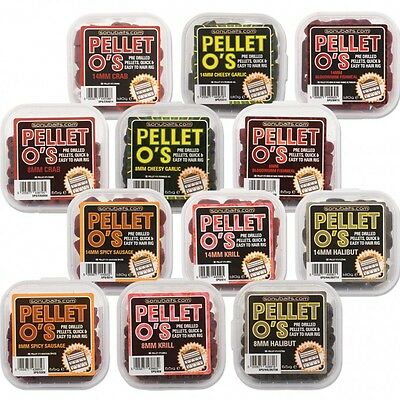 Sonubaits Sonu Baits Pellet o's 8 or 14 mm All Flavors Available
