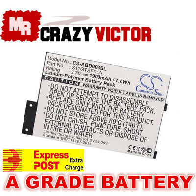 S11GTSF01A GP-S10-346392-0100 Battery for Amazon Kindle 3 III D00901 eReader