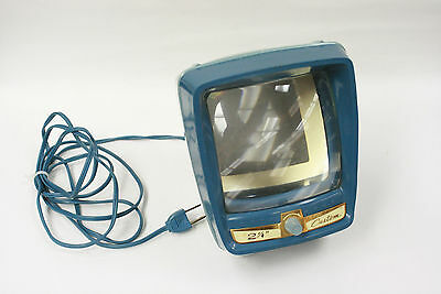 """Opta-View 2 1/4"""" square slide viewer that works by AC only. Good lamp."""
