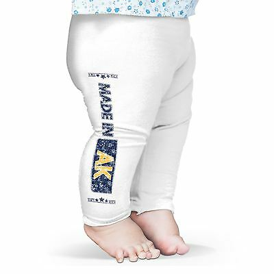 Twisted Envy Made In AK Alaska Baby Funny Leggings Trousers