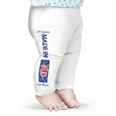 Twisted Envy Made In ND North Dakota Baby Funny Leggings Trousers