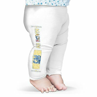 Twisted Envy Made In NJ New Jersey Baby Funny Leggings Trousers