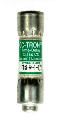 Cooper Bussmann CC-Tron Time Delay Fuse FNQ-1-1/2 *Brand New & Free Shipping*