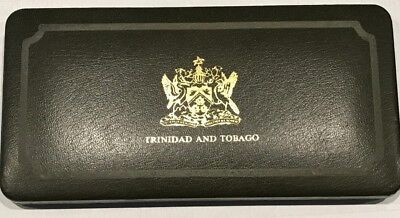 1974 Trinidad and Tobago 8 Coin Proof Set with Box and COA