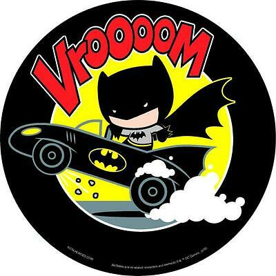 DC Comics Exclusive Batman on Batmobile Chibi Mouse Pad - San Diego Comic 2017 E