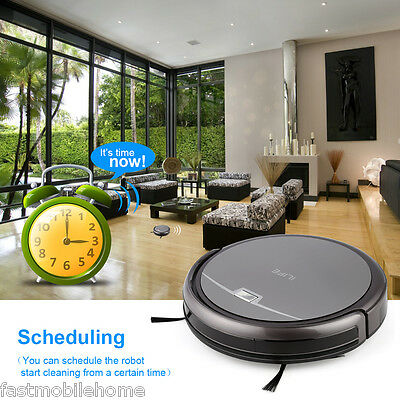 ILIFE A4S Smart Robotic Vacuum Cleaner Cordless Sweeping Dust Cleaning Machine