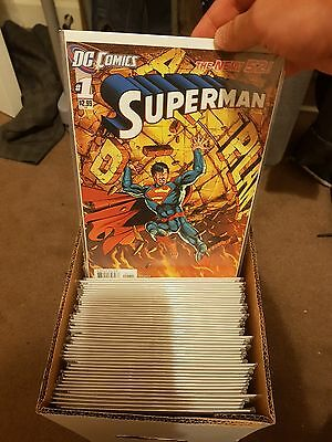 Superman 1-52 new 52 complete run