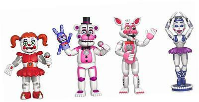 Five Nights At Freddy's Sister Location Action Figure Set 1 Figure Set Standard