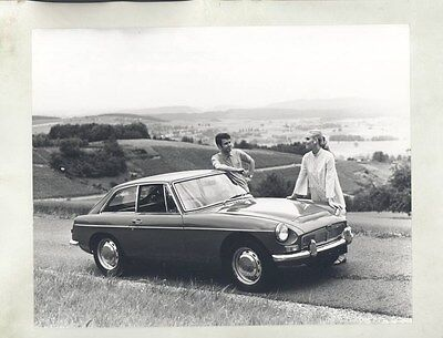 1968 MG MGB GT ORIGINAL Factory Photograph wy4287