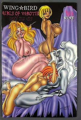 Wing Bird Girls of Verotik Sexy Pin Ups 1st Print May 1999 Adults Only 18+ NM