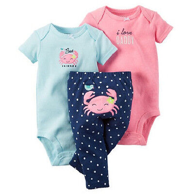 3-Piece Bodysuit & Pants Set carter's for 12 months free shipping