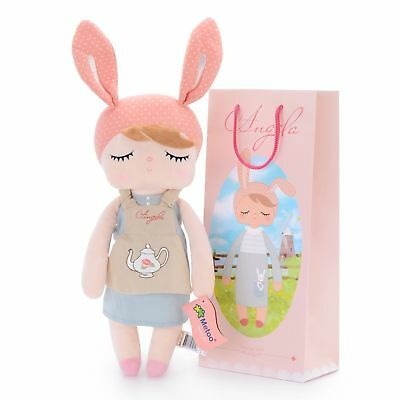 Me Too Angela New Design Stuffed Bunny Baby Plush Rabbit Doll Gifts for Girls...