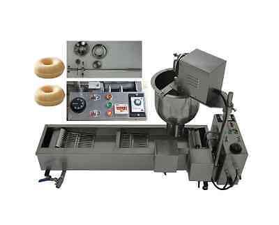 MEW Automatic donut maker stainless steel mini donut making machine with 3 molds