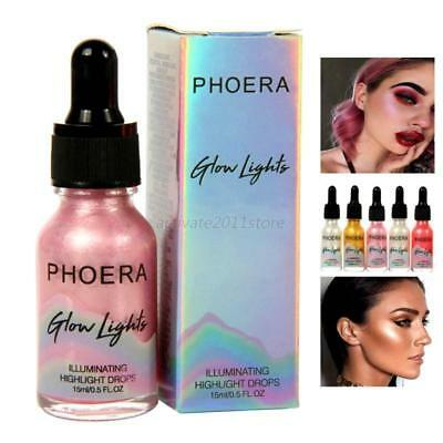 Face Makeup Liquid Highlighter Shimmer Contour Eyeshadow Glow Bronzing Drops NEW