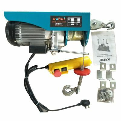 Scaffold Winch Electric Hoist Lift [Type:KG: 250-500]