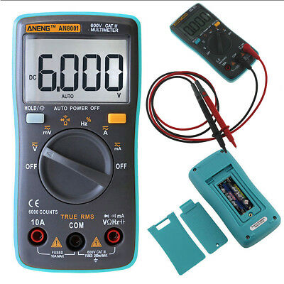 Auto-Ranging Digital LCD Multimeter Voltmeter Amperemeter Widerstands Messgerät