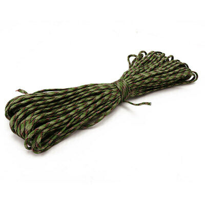 7 Strand Core Parachute Cord Paracord Survival Rope For Camping Hiking Fishing