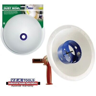 Bordo Holesaw Debris Dust Collector Bowl-Perfect For Downlight Cutting Hole Saw