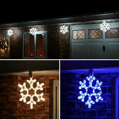 Connectable 24V Outdoor Garden Snowflake Christmas Silhouette Motif Led Light