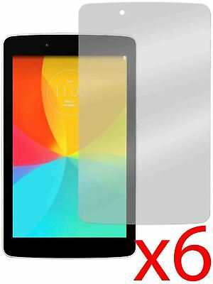 """Hellfire Trading 6x Screen Protector Cover Guard for LG G Pad 7.0 V400 7"""""""