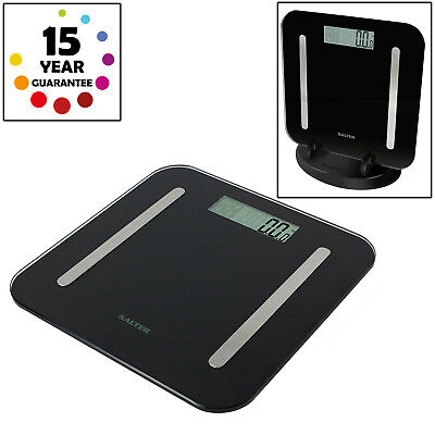 Salter Stowaweigh Electronic Body Fat Analyser Bathroom Scales 15 Year Warranty
