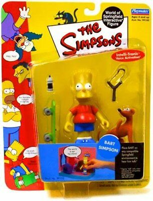 The Simpsons Bart Simpson World of Springfield Action Figure Playmates Toys