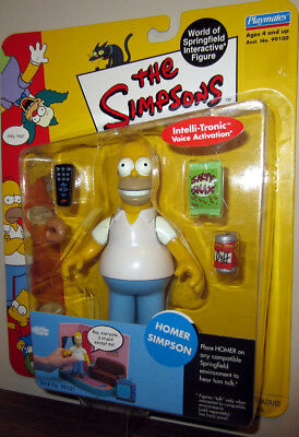 The Simpsons Homer Simpson World of Springfield Action Figure Playmates Toys