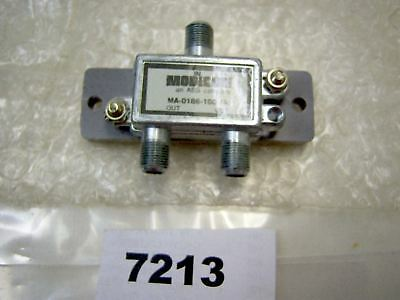 (7213) Modicon Coax Splitter MA-0186-100 (A) NIP