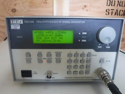 TTi TGR1040 1GHz Synthesized FR Signal Generator