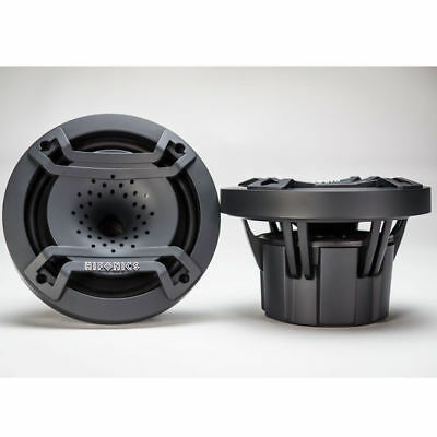 "(2) Hifonics TPS-CX65 6.5"" 300 Watt Marine LED Speaker for Boat/ATV/UTV/RZR/Cart"