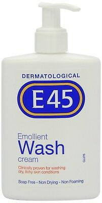E45 wash cream 250 ml, A Gentle Wash That Relieves And Helps Prevent Dryness,