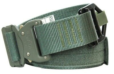 Fusion Tactical Military Police Riggers Belt Generation II Type A Foliage Green Large 38-43//1.75 Wide