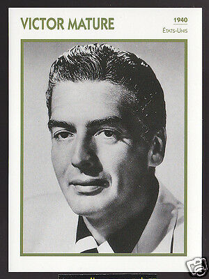 Actor victor mature biography