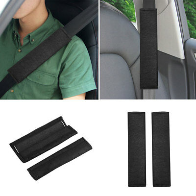 2Pcs Car Vehicles Plush Soft Seat Belt Shoulder Pads Safety Covers Padded