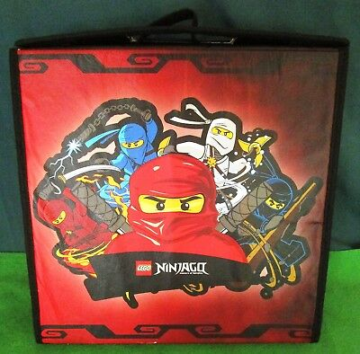 Lego Ninjago Red Battle Case - Masters Of Spinitzu - Storage/play Mat