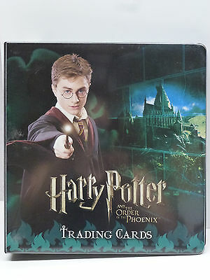 Harry Potter OOTP CC Binder #2 Base & Update Set all Foils & Box Toppers