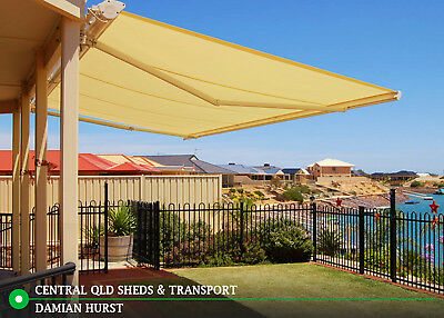 Large Outdoor Patio Retractable Awning in Emerald, Queensland