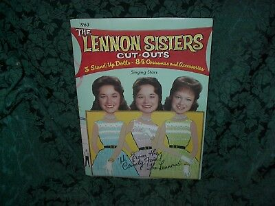 The Lennon Sisters 1963 Cut Outs At The Country Fair-New