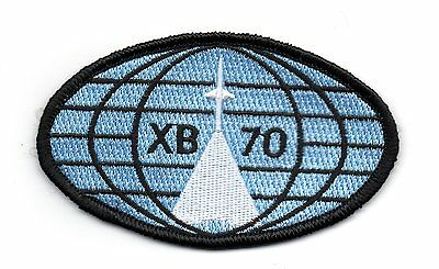 North American XB-70 Valkyrie USAF Supersonic NASA SAC Experimental Bomber Patch