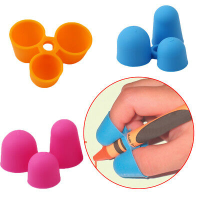 4x Claw Pencil Grip Kids Correction Tool Pencil Holder Writing Aid Grip Posture