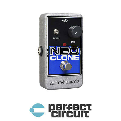 Electro-Harmonix Neo Clone Analog Chorus Pedal EFFECTS - NEW - PERFECT CIRCUIT