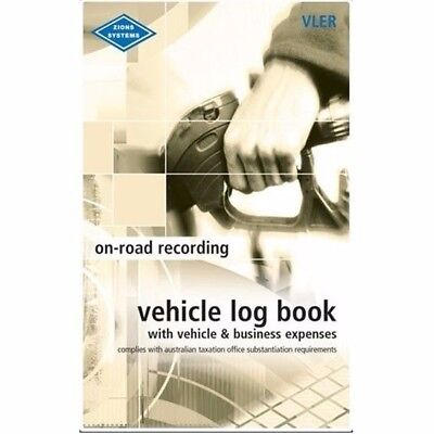 1 x Zions Pocket Vehicle Log & Expense Book 64P ATO Compliant VLER