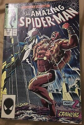 Amazing Spider-Man #293 (1987) Marvel Comics Kraven the Hunter appearance