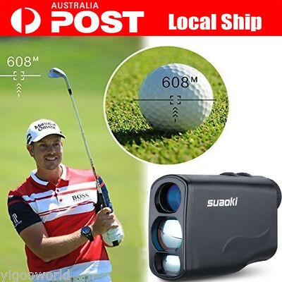 600m 6x Laser Range Finder Professional handheld Rangefinder for Golf Hunting AU