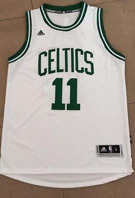 New Boston Celtics Kyrie Irving #11 Stitched Basketball White Jersey